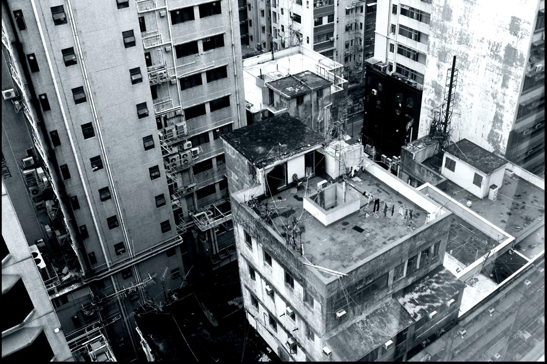 Hong Kong back street