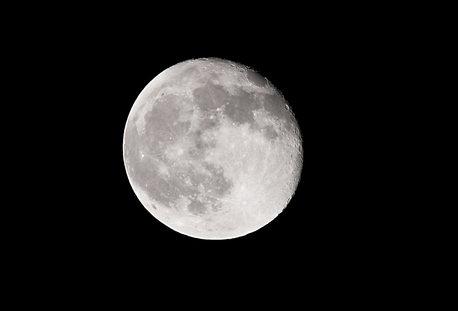Full Moon taken with Sigma 500 mm lens