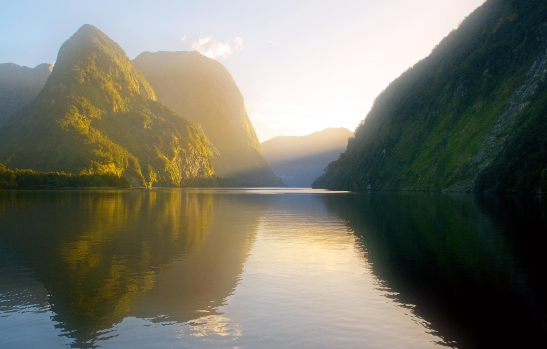 Doubtful sound sunrise NZ